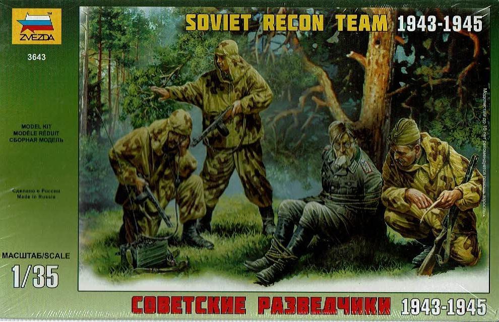 1/35 Equipo reconocimiento Soviético, 1943-45