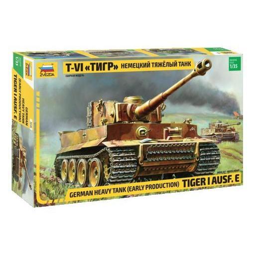 1/35 TIGER I Ausf.E Early Production