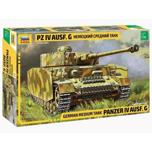 1/35 German Medium Tank Panzer IV Ausf. G