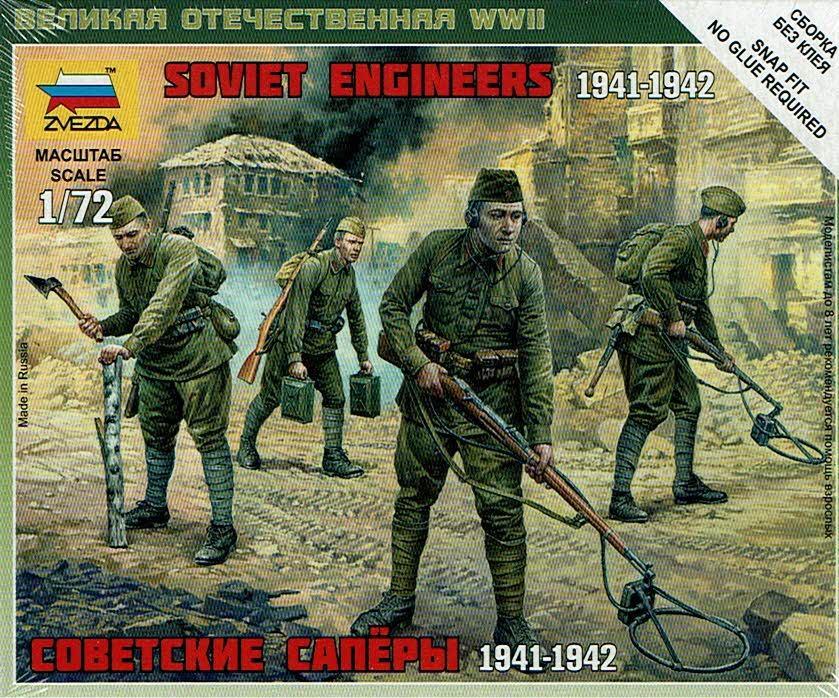 1/72 Ingenieros Soviéticos 2ª G.M.