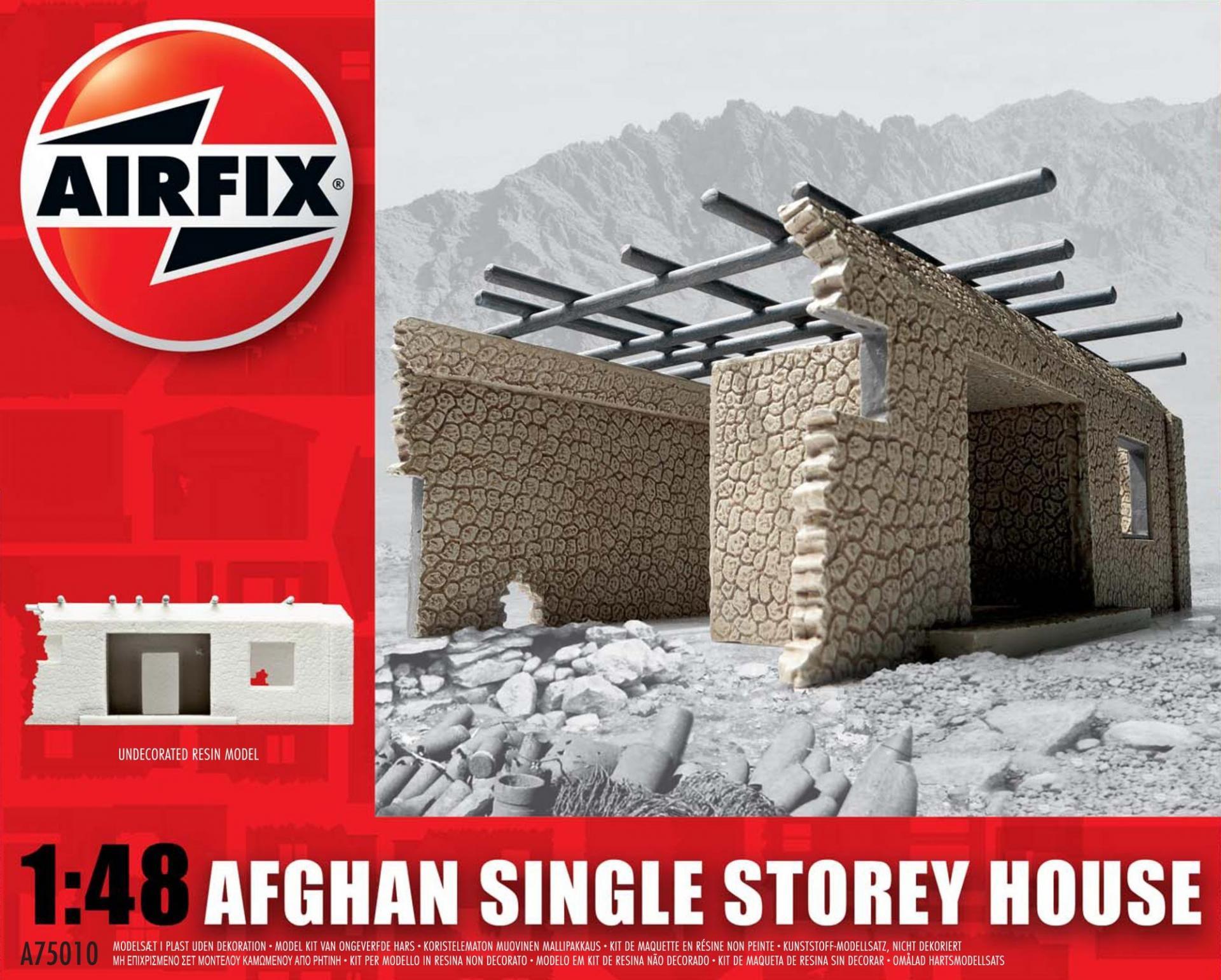 1/48 Edificación Afganistán (Single Storey House)