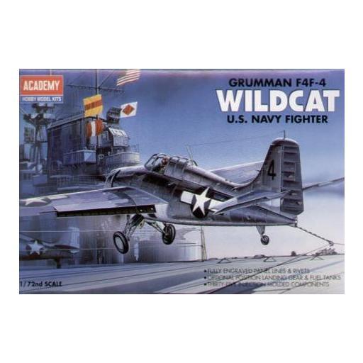 1/72 U.S. Navy Fighter F4F-4