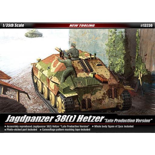 1/35 Jagdpanzer 38(t) Hetzer Late Version