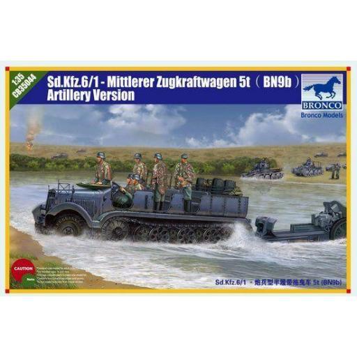 1/35 Halftrack Sd.Kfz 6 /1-Mittlerer Zugkraftwagen 5t (BN9b)  Artillería