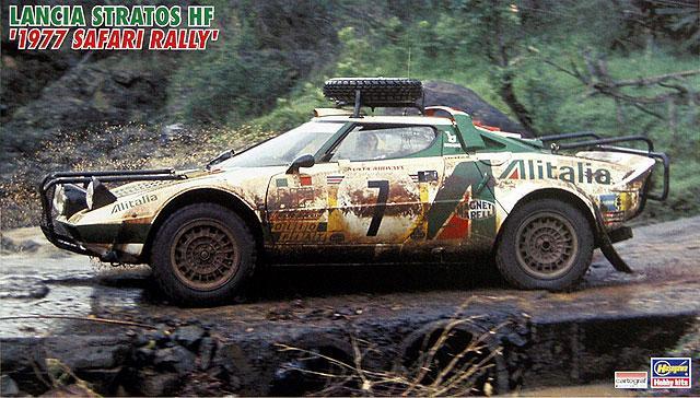 """1/24 Lancia Stratos HF """"1977 Safary Rally"""""""