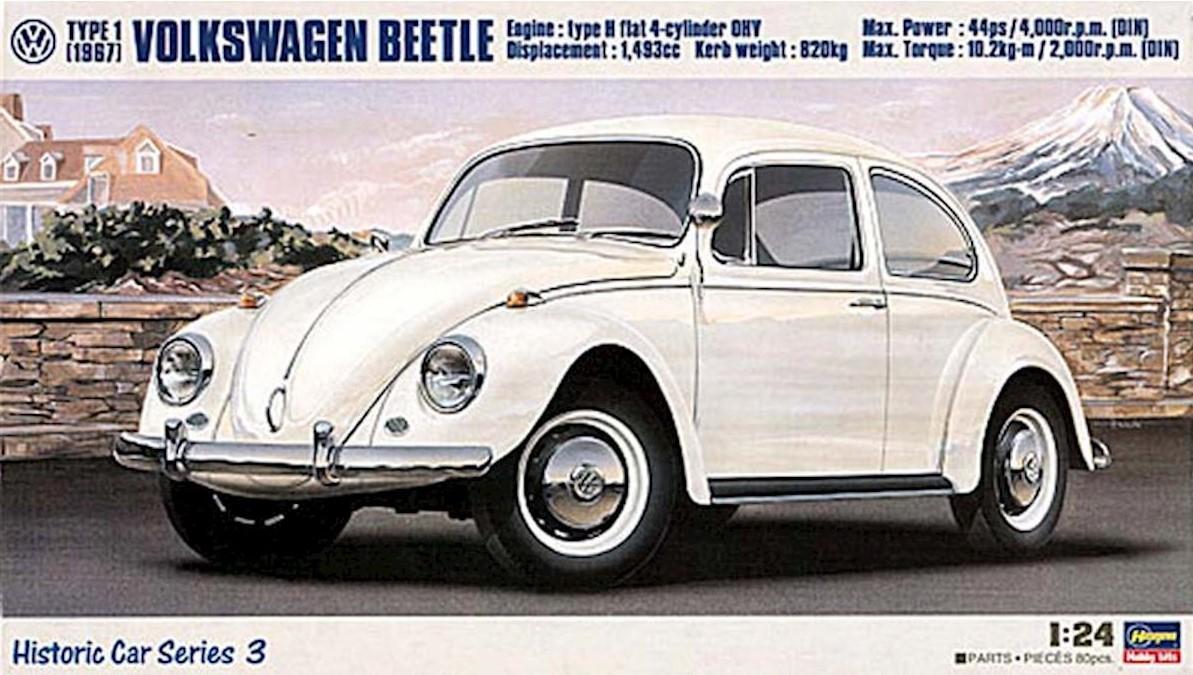 1/24 Volkswagen Beetle Type 1 1967