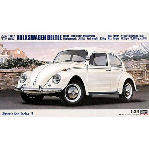 1/24 Volkswagen Beetle Type 1 1967 [0]
