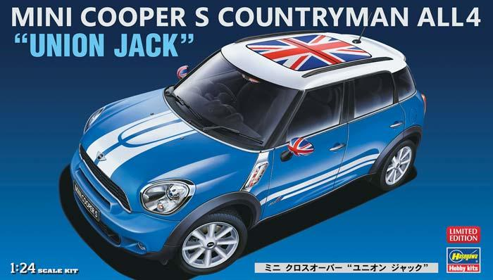 1/24 Mini Cooper S Countryman All4 Union Jack