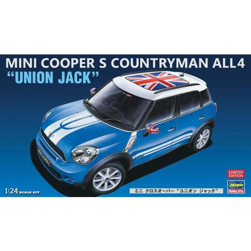 1/24 Mini Cooper S Countryman All4 Union Jack [0]