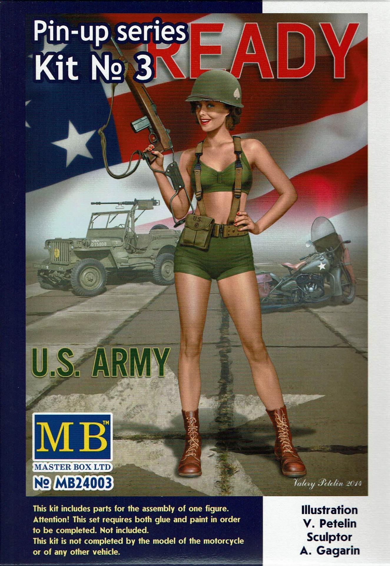 1/24 Alice U.S. Army Pin Up series kit nº 3