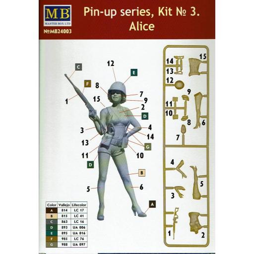 1/24 Alice U.S. Army Pin Up series kit nº 3 [1]