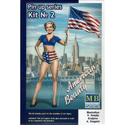 1/24 Betty American Beauty Pin Up series kit nº 2