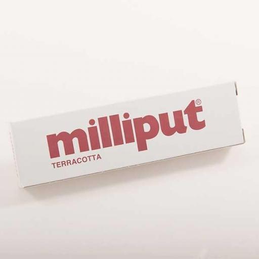 Masilla Milliput Epoxy Putty - Terracotta