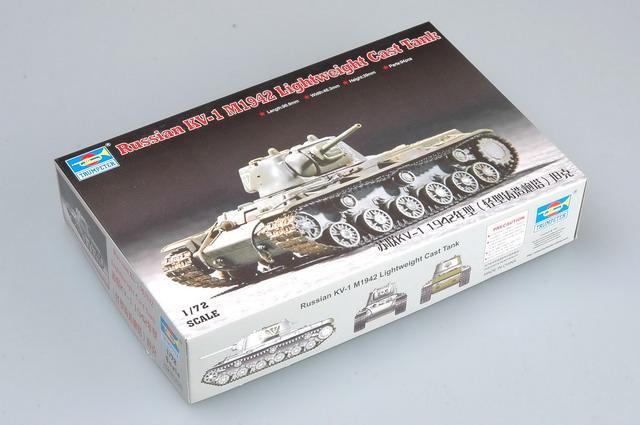 1/72 Tanque Ruso KV-1 M1942