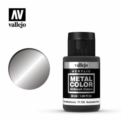 Metal Color  77.720 Gris Metalizado - Gun Metal