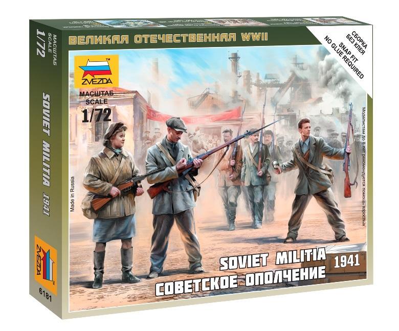 1/72 Milicianos Soviéticos 1941