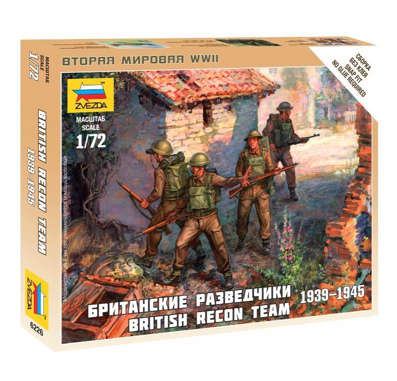1/72 Patrulla Reconocimiento Británica 2ª G.M.