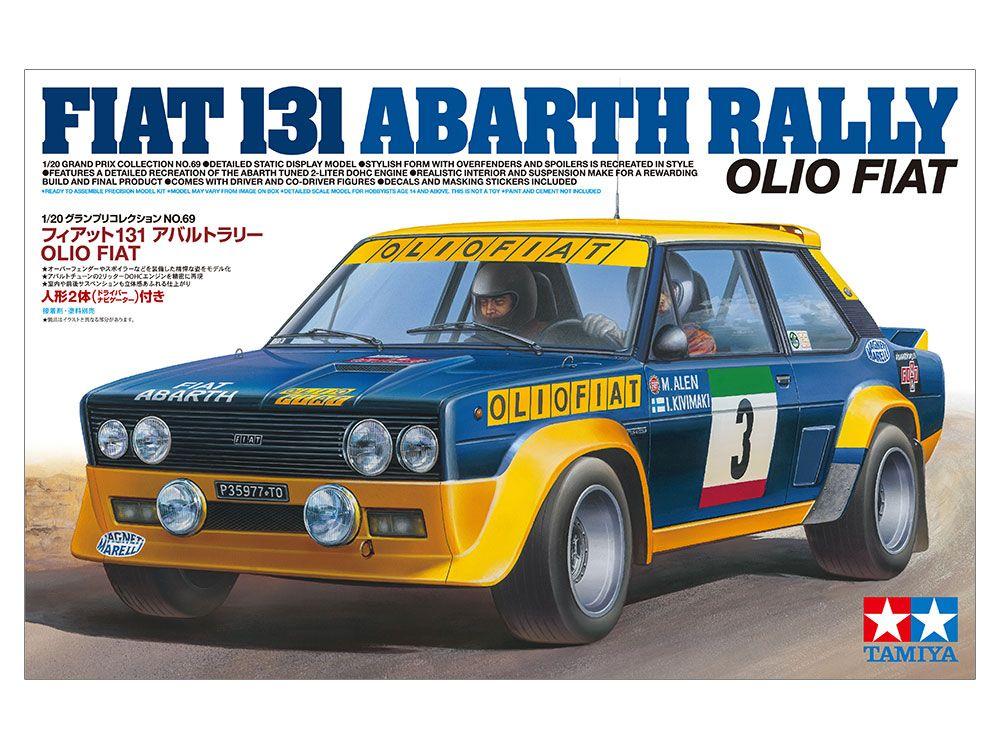 1/20 Fiat 131 Abarth Rally
