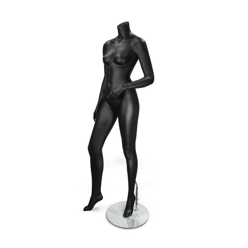 Maniquí de mujer negro
