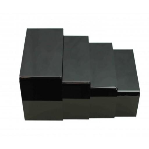 Juego 4 soportes acrílicos negros [1]