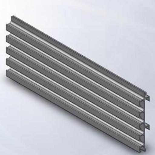 Panel de  aluminio a pared [2]