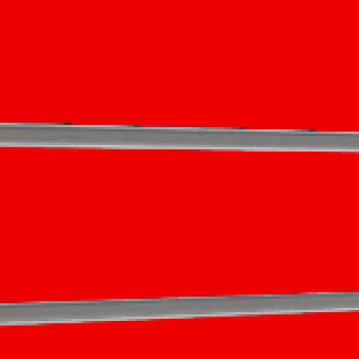 Panel de  lamas  Rojo