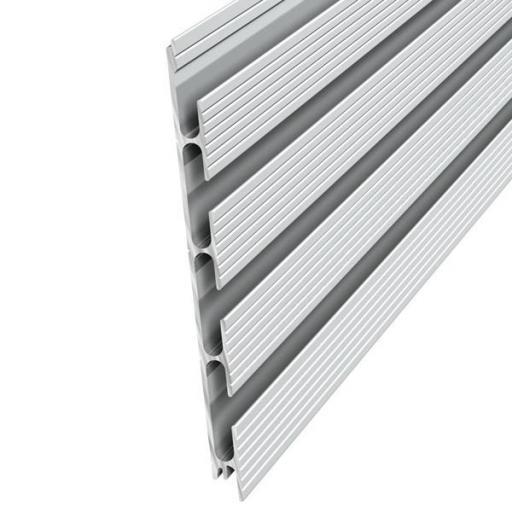 Panel de  aluminio a pared