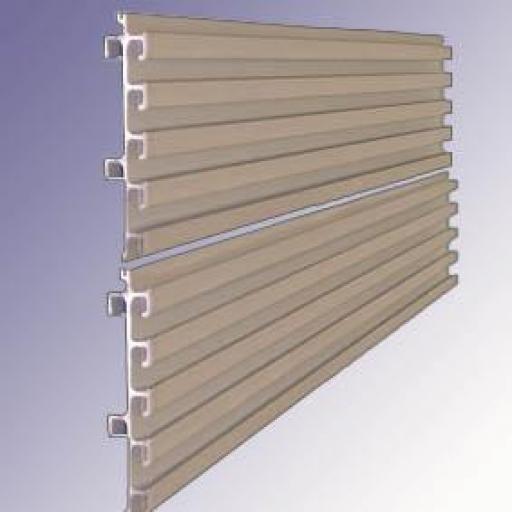 Panel de  aluminio a pared [3]