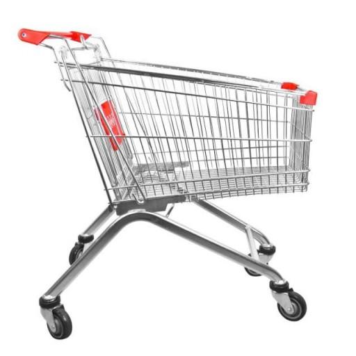 Carro de compra metálico supermercados 150 litros [1]