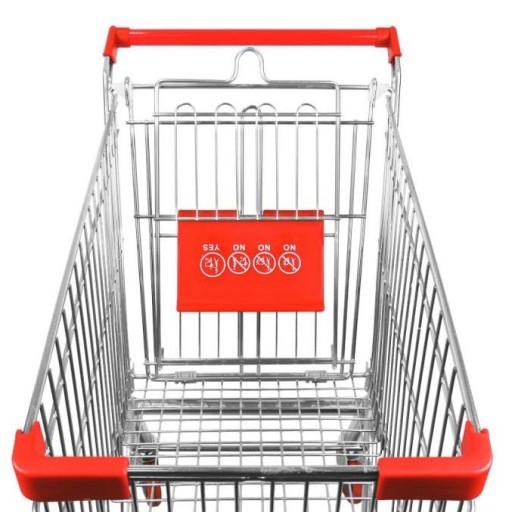 Carro de compra metálico supermercados 150 litros [3]