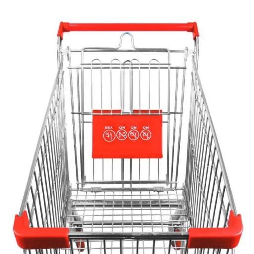 Carro de compra metálico supermercados 180 litros [3]
