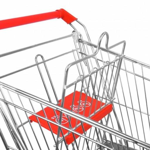 Carro de compra metálico supermercados 100 litros [2]