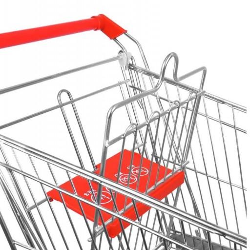 Carro de compra metálico supermercados 150 litros [2]
