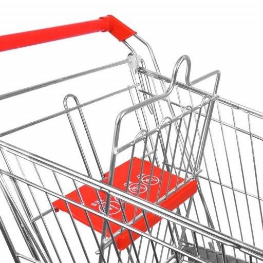 Carro de compra metálico supermercados 180 litros [2]