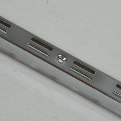 Barra de cremallera cromada, largo 240 cm [1]