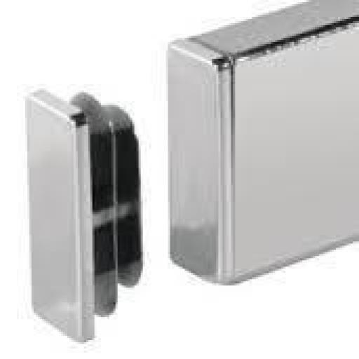 Tapón embellecedor de barra rectangular