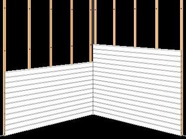 Rastreles de madera a pared [2]