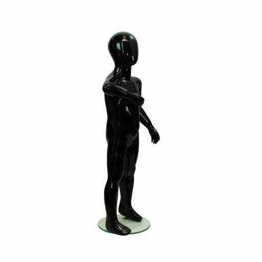 Maniquí niño color negro, 4-6 años [2]