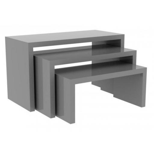 Mesas expositoras madera