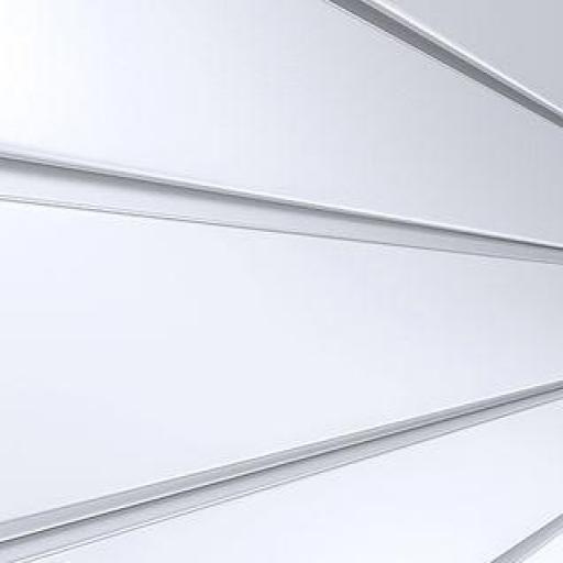 Panel de lamas blanco