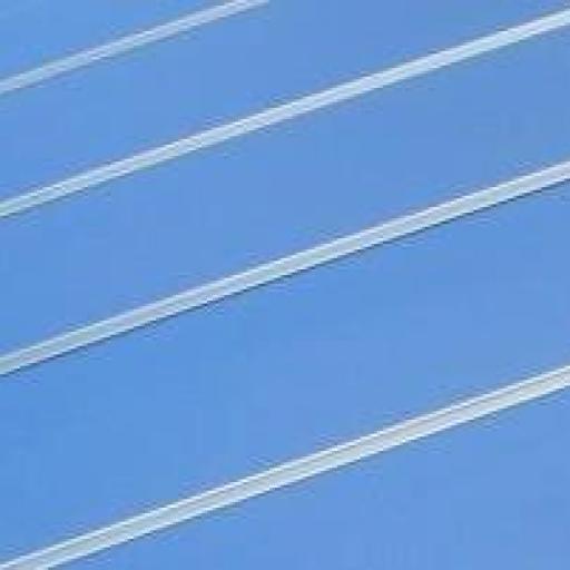 Panel de  lamas  Azul cielo