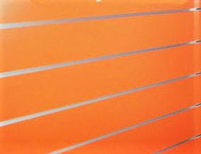Panel de  lamas  Naranja