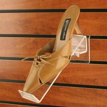 Soporte acrílico inclinado móvil para zapatillas [1]