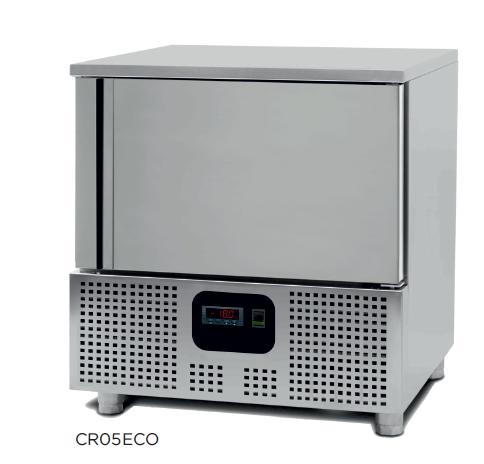 Abatidor de temperatura mixto modelo CH CR05ECO