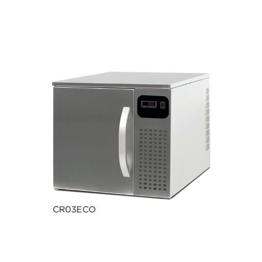 Abatidor de temperatura mixto modelo CH CR03ECO