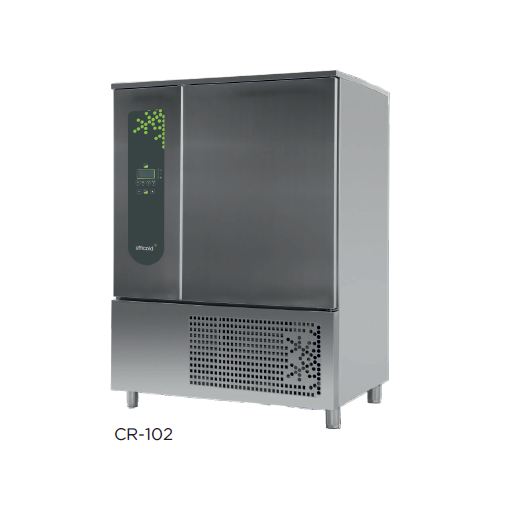 Abatidor de temperatura mixto y 600 x 400 mm modelo CH CR-102