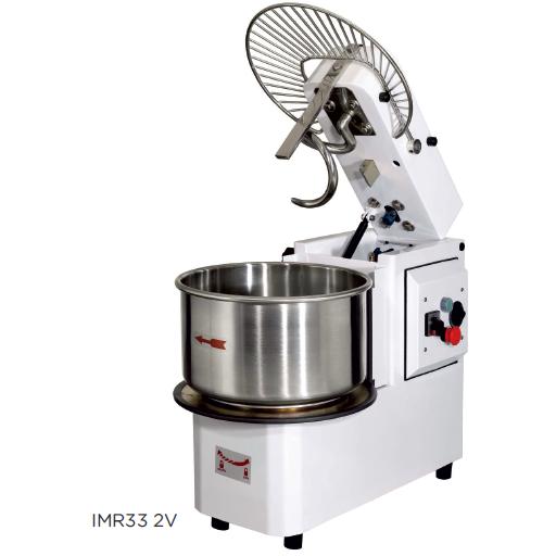 Amasadora de gancho espiral con cuba extraible y cabezal elevable modelo CH IMR42 2V