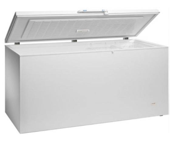 Arcón congelador con puerta abatible ciega - 18ºC / -22ºC modelo MQ CHEV500 P INOX