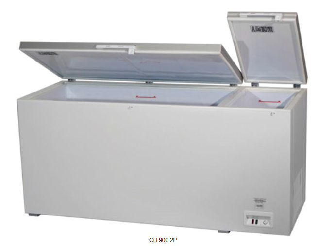 Arcón congelador con puerta abatible ciega - 18ºC / -22ºC modelo MQ CH 900 2P