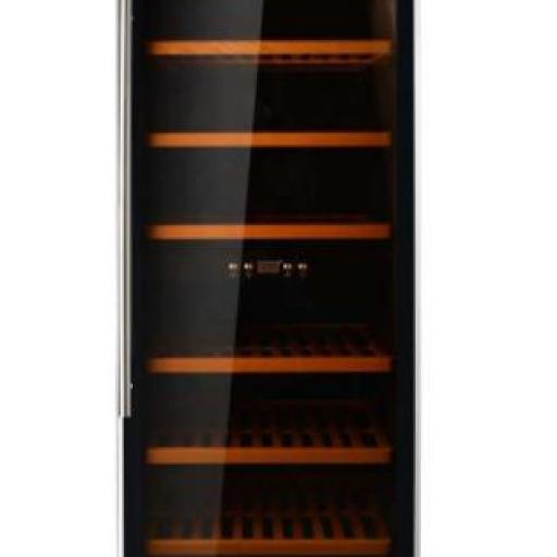 Armario Cava de Vino 2 temperaturas 200 botellas 600x700x1950h mm PEKIN CH W-200
